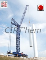 ZHONGSHENG NANJING: la grue éolienne spécifique.