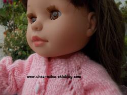 Cardigan pour poupée Soy tu