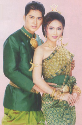Costumes traditionnels cambodgiens , Apsara2001