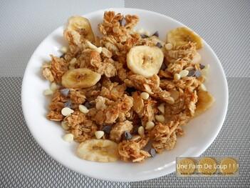 Granola crunchy choco - banane
