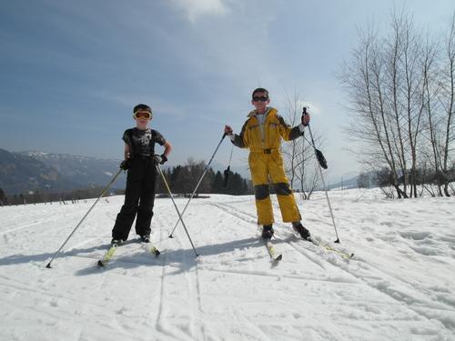 Ski de fond à la Féclaz