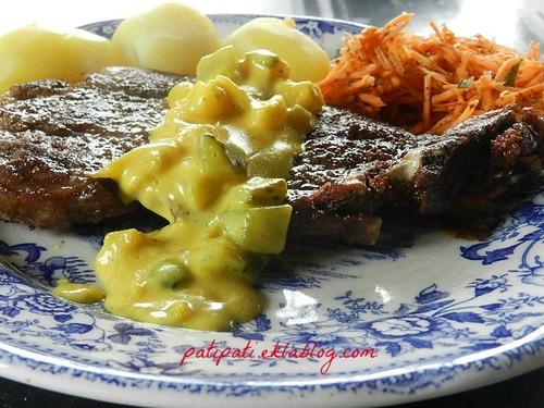 Côte sauce Blackwell