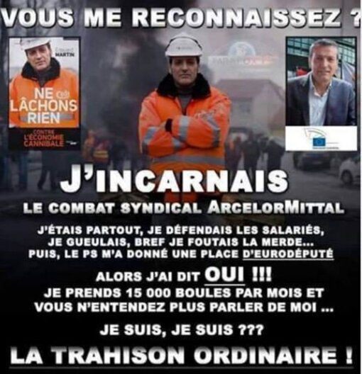 Macron, Levavasseur etc.. ce sont les infos du poissonnier.