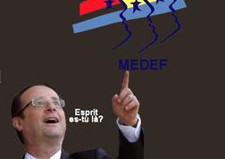 Le mauvais esprit de François Hollande