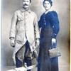 soldat et sa femme guerre 1418