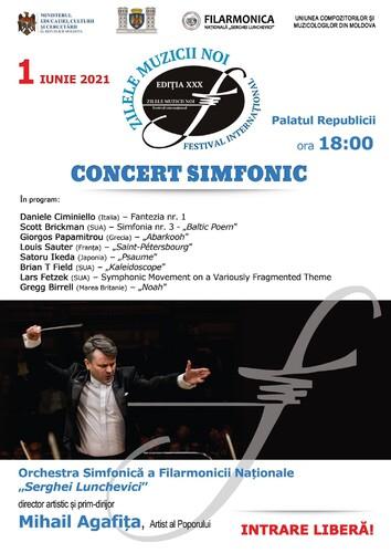 Contrat pour l'enregistrement de « Psaume » en CD avec l'Orchestre national de Moldavie