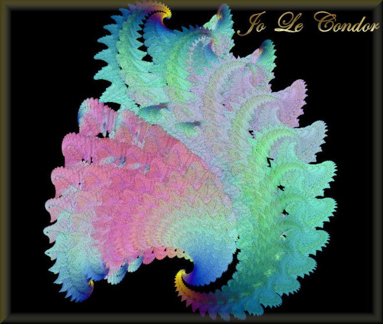 Plumes.....En fractales