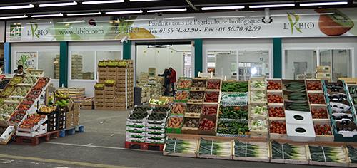 Fruits et légumes à Rungis