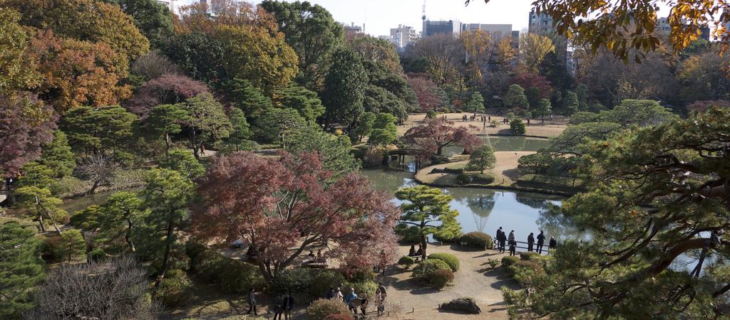 Rikugi-en : 六義園