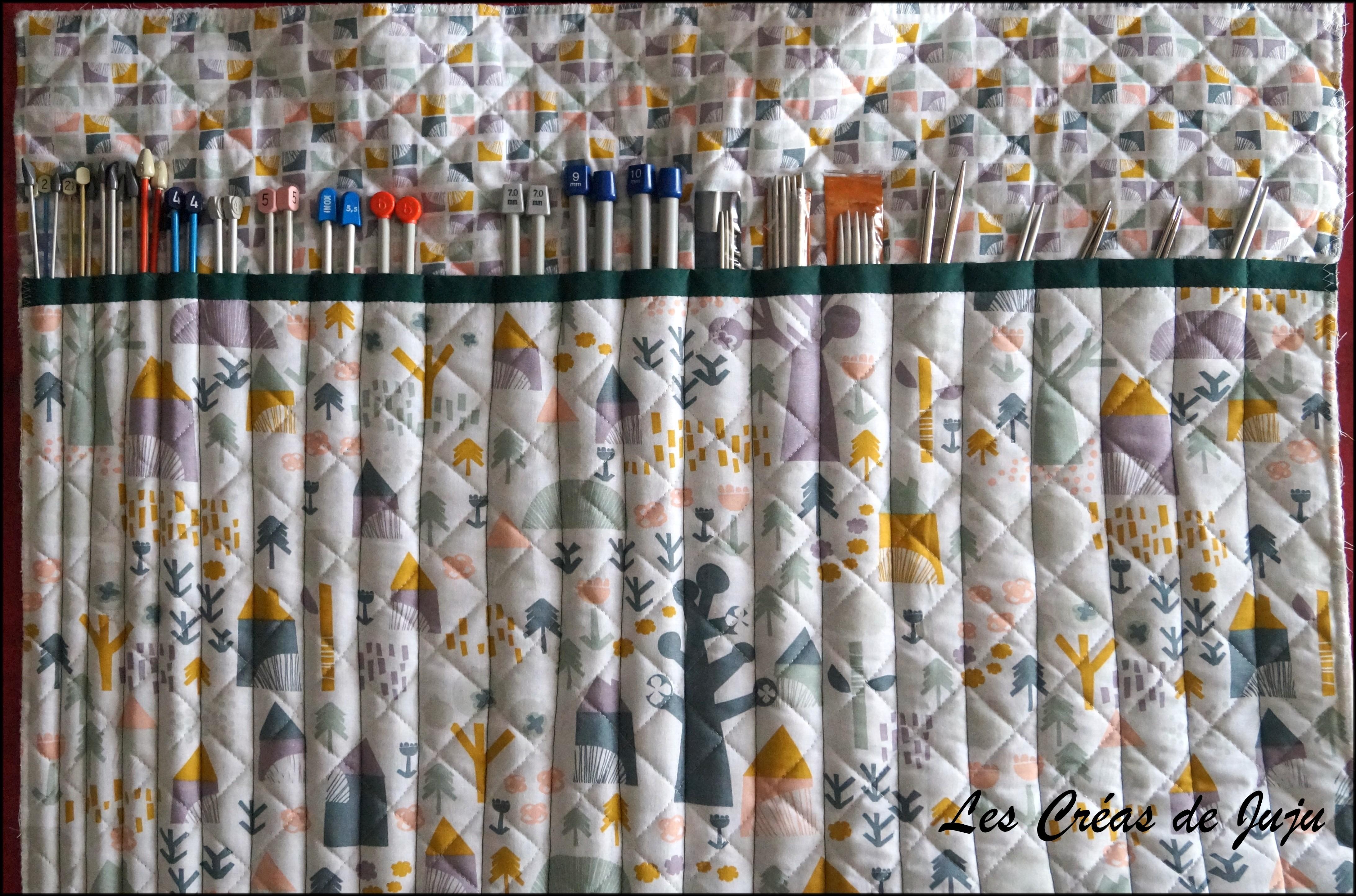 cozy fresh online here unique design Tuto pour trousse aiguilles à tricoter - Les Créas de Juju