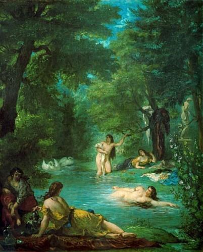Eug ne Delacroix - Femmes turques au bain