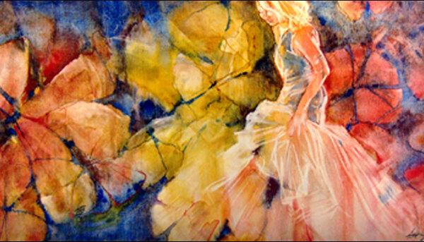 Aquarelles de : Lise St-Cyr