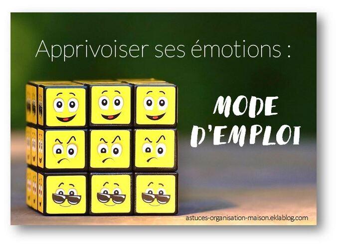 ✿ Apprivoiser ses émotions : mode d'emploi