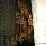 La collégiale saint Aubin - Intérieur
