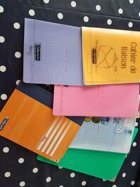 Matériel (cahiers, classeurs) CM GS