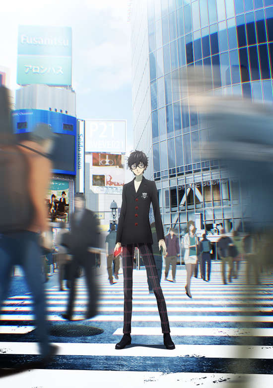 Persona 5 the Animation انمي