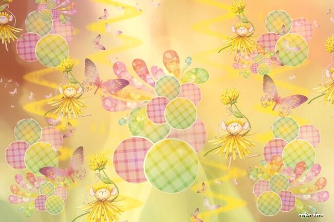 design aux couleurs de l'été