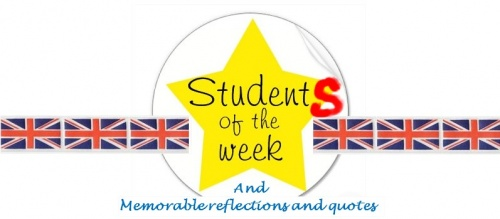Student(s) of the week!