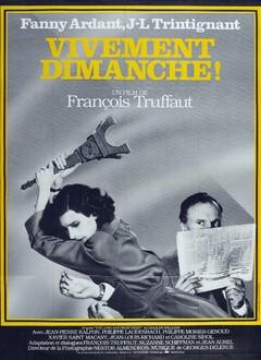 VIVEMENT DIMANCHE - AFFICHE FRANCAISE
