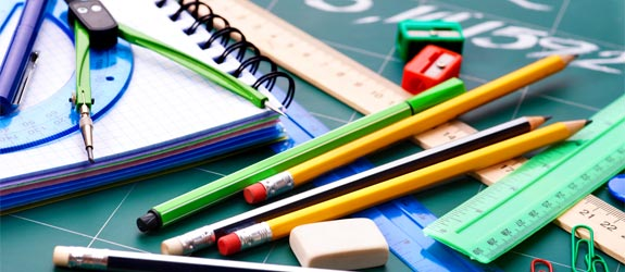School supplies - Kenn Nesbitt's poem