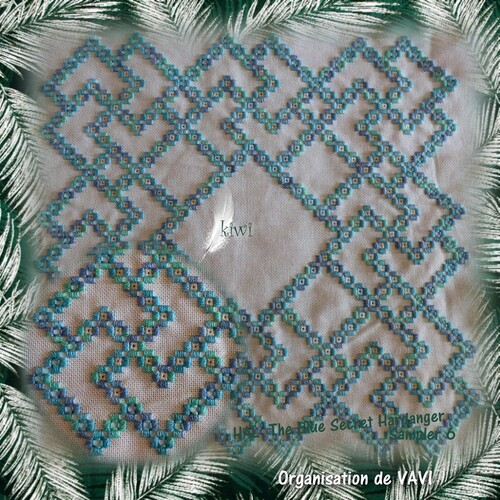 Hal :The Blue Secret Hardanger Sampler 6