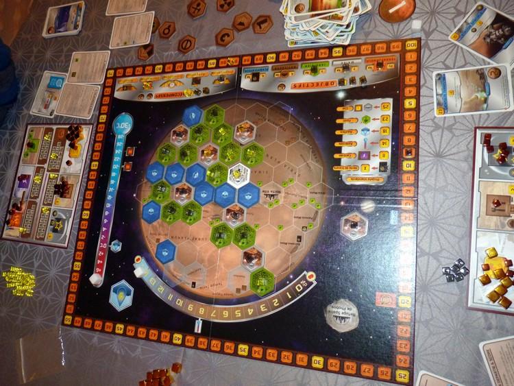 Terraforming Mars (après décompte)