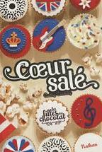 """Fiche de lecture sur """"Les filles au chocolat"""" , tome 3.5 """"Coeur salé"""" de Cathy Cassidy"""
