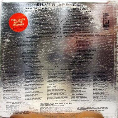 Chefs d'oeuvre oubliés # 5 : Silver Apples - S/T (1968)