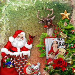 Père Noël arrive ce soir