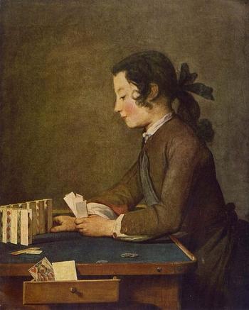 Jean Siméon Chardin - Le château de cartes