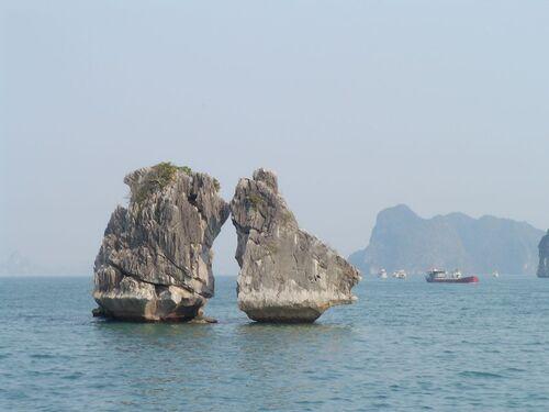 3 mars, les baies d'Halong