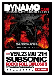 Subsonic - Concert au Dynamo Café