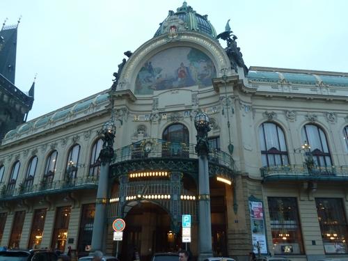 Prague capitale au centre historique de la Boheme