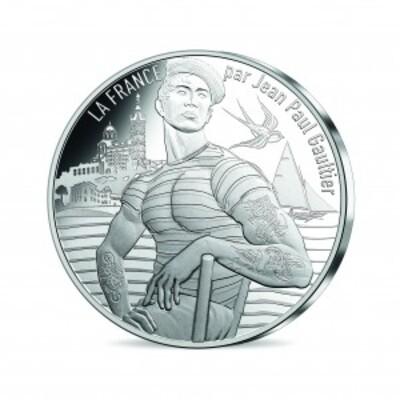 Les pièces d'euros françaises dessinées par Jean-Paul Gaultier