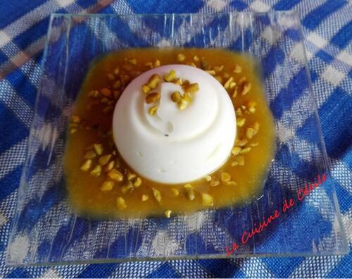 Semifreddo aux nectarines