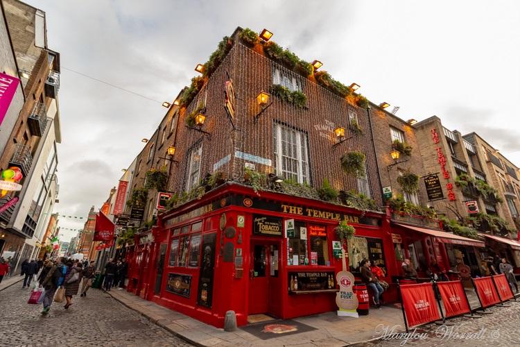 Irlande : La Liffey à Dublin