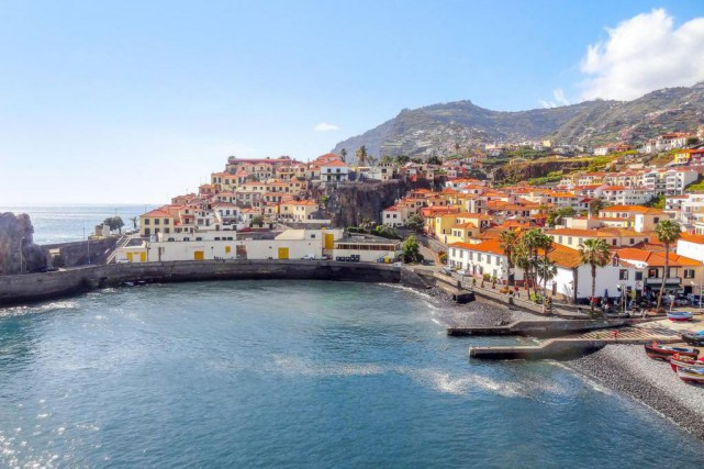 Le port de Camara Do Lobos... (PHOTO THINKSTOCK)