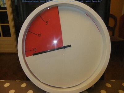 Un time timer pour moins de 5 euros