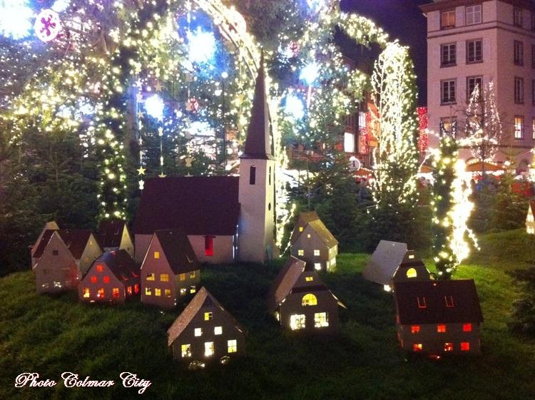 Au temps des marchés de Noël : Strasbourg Place Kléber