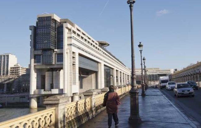 Le ministère de l'économie et des finances, Bercy, à Paris, le 28 janvier 2013.
