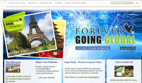 DISCOVER FOREVER LIVING PRODUCTS
