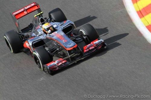 GP Italie : Essais libres 2 - Hamilton 1°, Button 2°