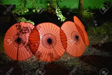 Les ombrelles d'Okayama ...