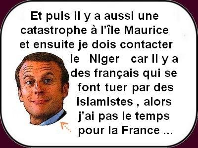 Macron t'es où avec cette canicule ?