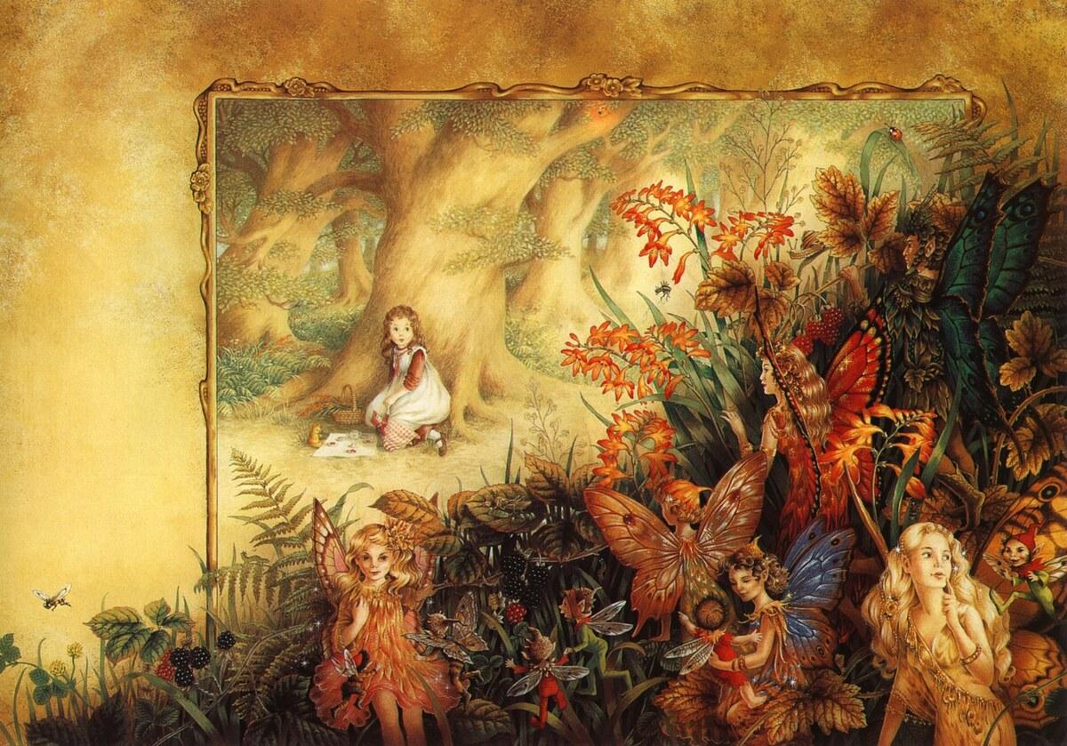 Tavasz festményeken