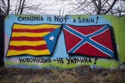 De l'Ukraine à la Catalunya...