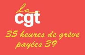Manifestaion des permanents de la CGT et FO ...