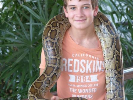 On a touché un serpent