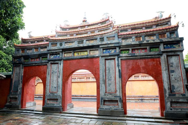 Cité impériale, porte de l'éternelle longévité de la résidence Diên Tho