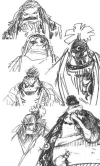 Equipage de Luffy avant ellipse